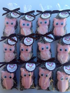 Owls soaps, Party favors, Baby shower,  Soap owls, owls. $1.85, via Etsy.