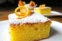 Orange cake ~ Recepti i Ideje Baking Recipes, Dessert Recipes, English Food, English Recipes, Carrot Cake, No Bake Cake, Cake Cookies, Vanilla Cake, Sweet Recipes