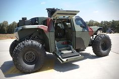 Combat Guard 4x4 Armored Vehicle
