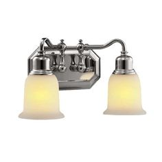 Hampton Bay - 13.375 In. Bathroom Vanity, Chrome Finish - WB 878/2 CH - Home Depot Canada