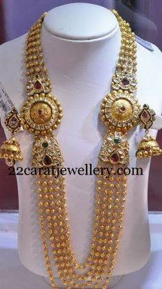 Chandra Haram by Mor Jewellers | Jewellery Designs