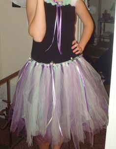Do it yourself tutu! Possible way for flowergirls