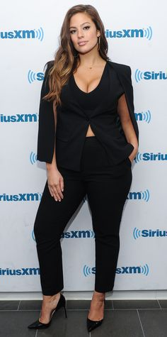 Study up on these nine plus-size style lessons from Ashley Graham.
