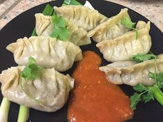 | Momos |        Momo is a type of South Asian dumpling; native to Tibet, Sikkim (India), Bhutan and Nepal. It is similar to Chinese ba...
