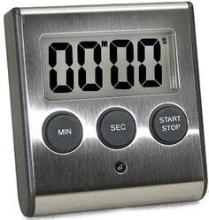 Grand écran LCD Kitchen Timer Count Down Up Clock Loud Alarme-sans batterie