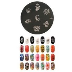 Konad Stamping Nail Art Image Plate - M33 -- Be sure to check out this awesome product. (This is an affiliate link) #NailArtEquipment