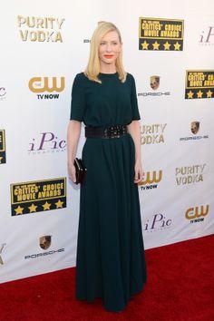 Fashion At The Critics' Choice Awards: Cate Blanchett