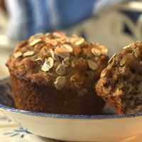 Everyday Health: Date-Oat Muffins Toasting the oats for this hearty muffin enhances their nutty flavor. Get the recipe.