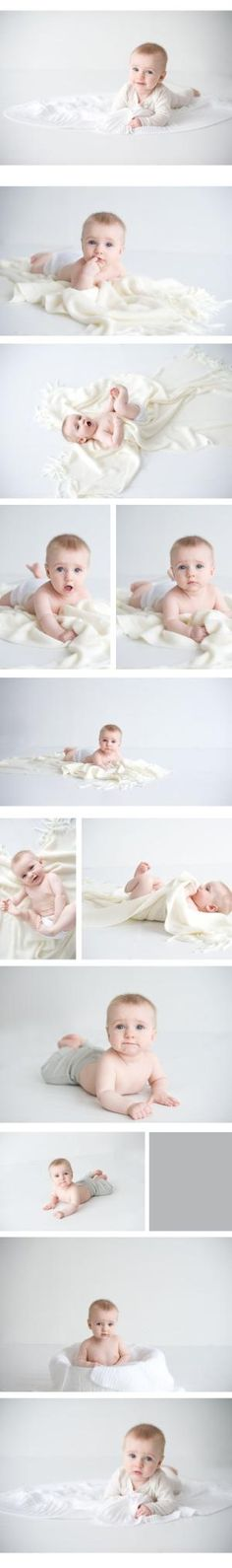 6 month baby shoot by clarissa