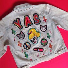 Hand embroidered custom