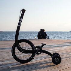 Концепт городского складного велосипеда
