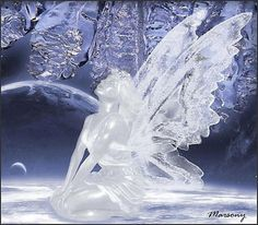 Fairy Ice sculpture