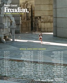 Daniel Caesar Brings 'Freudian' on North American Tour Collage Des Photos, Photo Wall Collage, Picture Wall, Dorm Posters, Concert Posters, College Posters, Poster Wall, Poster Prints, Daniel Caesar
