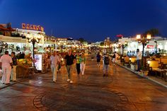 Naama bay night.  Was in Sharm a couple of summers ago...it was a wonderful place to be. Sun, beach, good food, shopping,music!!!!