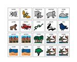 I See the Animals. – Adapted text and plain text booklets as word documents. One board of pieces to use in accompaniement to the lesson.  Repetitive text to reinforce sight words I, See, The.  Animals chosen for text were from Eric Carle's The Grouchy Ladybug.