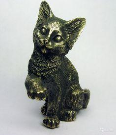Котенок, котик очаровательный - фигурка, статуэтка купить в Москве на Avito — Объявления на сайте Avito