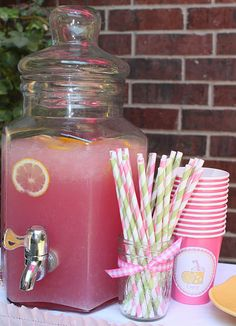 This actually links to making the best lemonade stand on the block!  I am so going to do this with the kiddos in  the summer.