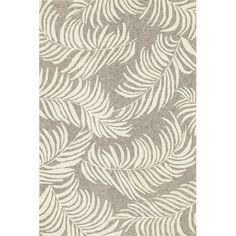 Found it at Wayfair - Tropez Natural/Ivory Tropical Inspired Indoor/Outdoor Rug