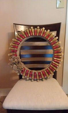 Shotgun Shell Wreath @Lauren Thoene & Michelle Manning