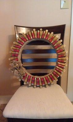 Shotgun Shell Wreath @Lauren Davison Thoene & Michelle Manning