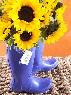 April showers bring May flowers  Floral arrangement