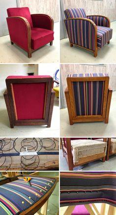 L'atelier de la Marquise : fauteuils club Paul Smith