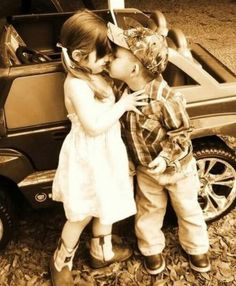 This is so cute! Country kids