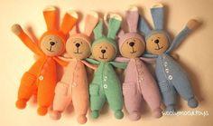 игрушка заяц в пижаме крючком схема вязания описание мк