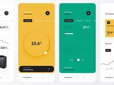 Best Web Design Inspiration — Dashboards — - TMDesign - Medium A showcase of the best web dashboards for inspiration. Designed by top UI and web designers. Web Design Trends, Ui Design, Best Web Design, Make Design, Flat Design, Graph Design, Digital Dashboard, Web Dashboard, Dashboard Design