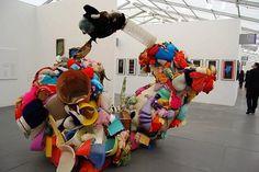 Gelitin @ Greene Naftali Gallery, Frieze New York 2012, foto: Roos van Put