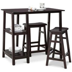 More space saving and can big a larger table when in use. :) I like ...