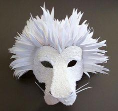 Paper Lion Mask