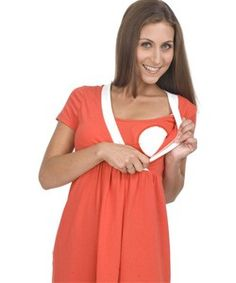 Hot looking Orange Cotton Bello Voi Nursing dress, Made of High Quality Materials - 95% Cotton and 5% Spandex. Click on the image to view the product. #Nursing, #Breastfeeding, #Maternity, #Pregnant, #Pregnancy, #Ladies, #Dress, #LadiesDress, #Casual, #Maternitydress, #PregnancyDress, #Babyshower, #Gift