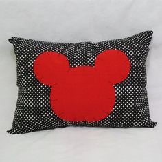 Capa para travesseiro Mickey Mouse