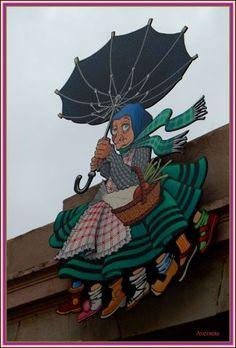 La Vella Quaresma arriba com la Mary Poppins!!!