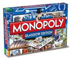 Amazon.com: Monopoly: Glasgow, Scotland Edition
