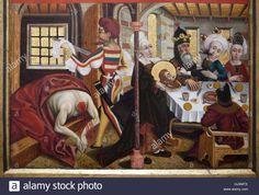 Martin Schongauer Beheading of Saint John the Baptist (1470-1475), Museum Unterlinden