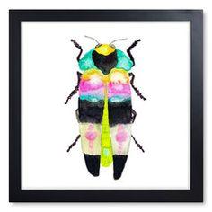 Beetle Print I