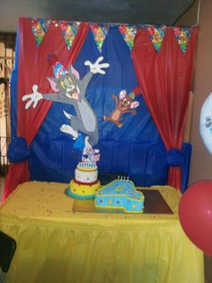 Tom and Jerry birthday party