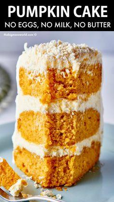 Pumpkin Breakfast, Breakfast Cake, Pumpkin Dessert, Pumpkin Pancakes, Pumpkin Cheesecake, Vegan Desserts, Just Desserts, Delicious Desserts, Dessert Recipes