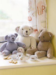 Teddy Bear Knitting Project