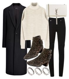 """""""Untitled #20381"""" by florencia95 ❤ liked on Polyvore featuring McQ by Alexander McQueen, Joseph, Roger Vivier, Yves Saint Laurent and ASOS"""