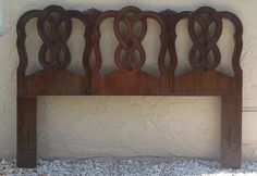 Antique French Country Style Solid Wood Queen Size Headboard Unbranded Frenchcountry