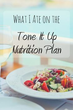 Curious about the Tone It Up Nutrition Plan? Here's what I ate during the Tone It Up Bikini Series Challenge. All of my meals were vegetarian and delicious!