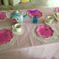 Princess tea party 4th bday