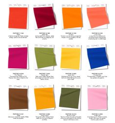 Pantone NY Fashion Week Spring/Summer 2019 Colors