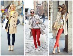 おしゃれなアウターの中でも人気のトレンチコートは、色やデザインによって雰囲気も変わる着まわししやすいアイテム。ブーツやパンプス、スニーカーと合わせたりデニムやスカート、ワンピースにもよく合います。海外女性のセンスのいい着方をお手本にして、すてきな秋冬コーディネートを楽しみましょう。