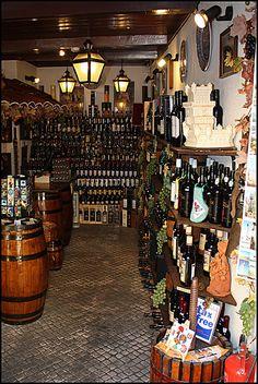 Wine shop - Cascais, Portugal