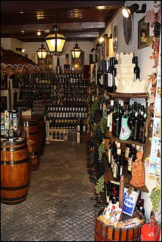 Wine shop - Cascais, Portugal