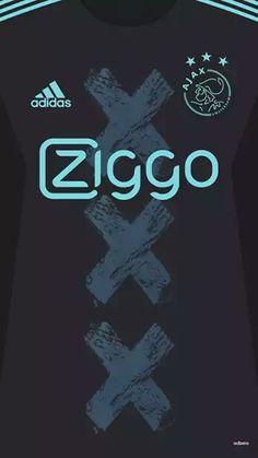 Soccer Kits, Football Kits, Football Background, Afc Ajax, Pro Evolution Soccer, Soccer Poster, Football Wallpaper, Galaxy Wallpaper, Messi